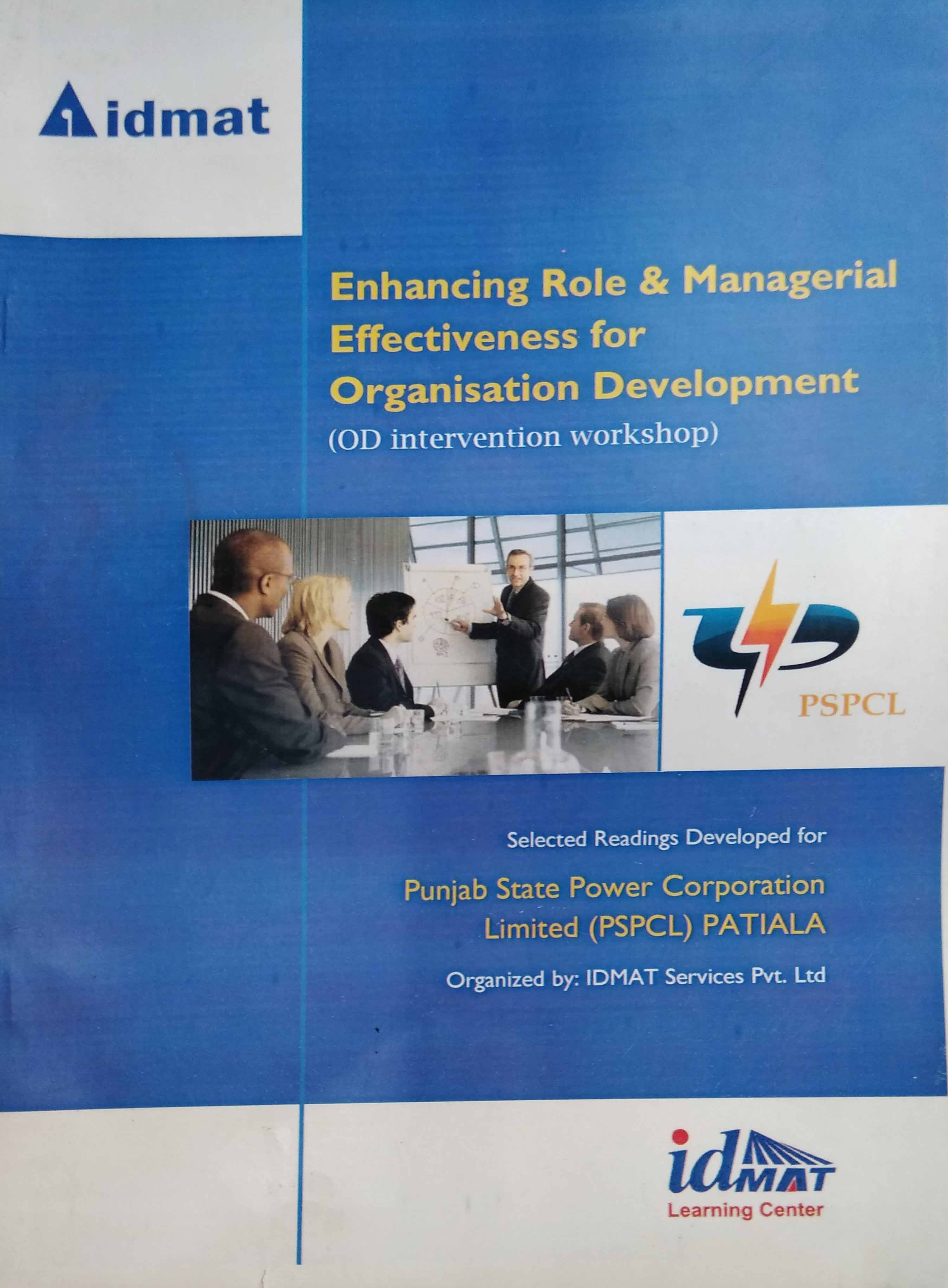 Enhancing Role & Management (OD)